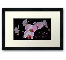 Orchids Framed Print
