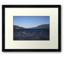 Loch Ness Shoreline Framed Print