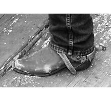 A Good Pair of Boots - Molalla Buckeroo  Photographic Print