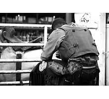 Lord, Please Let Him Buck - Molalla Buckeroo  Photographic Print