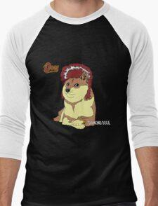 Diamond Doge (sans Comic Sans) Men's Baseball ¾ T-Shirt