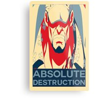 "Akainu ""Absolute Destruction"" Design Metal Print"