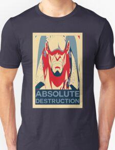 """Akainu """"Absolute Destruction"""" Design Unisex T-Shirt"""