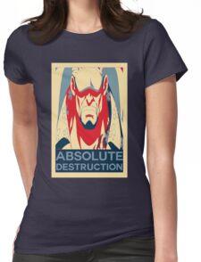 """Akainu """"Absolute Destruction"""" Design Womens Fitted T-Shirt"""
