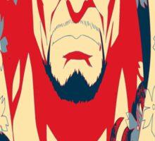 """Akainu """"Absolute Destruction"""" Design Sticker"""
