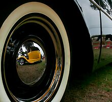Reflected Hot Rod by peterperfect