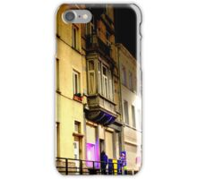 Bruxelles Red Light District iPhone Case/Skin