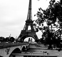 The City of Love - Eiffel Tower,Paris by CassandraLaine