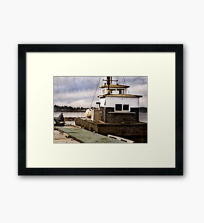 Saltwater Lifestyle Framed Print