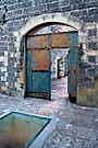 The Castle Door - Maglie Italy by Debbie Pinard