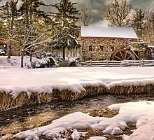 Old Grist Mill by bettywiley