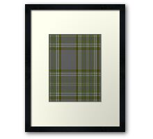 00326 Long Way Down Tartan Framed Print
