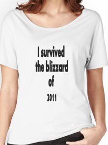 I did survive!!! Women's Relaxed Fit T-Shirt