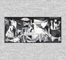 Picasso, Guernica One Piece - Short Sleeve