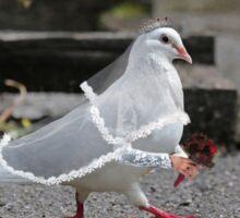 Dove Wedding Sticker