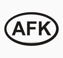 AFK location sticker by SOIL