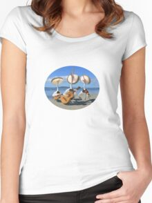 Pelican Mariachi band Women's Fitted Scoop T-Shirt