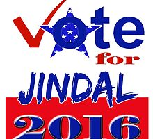 Vote for Jindal 2016 by Buckwhite