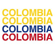 COLOMBIA Photographic Print