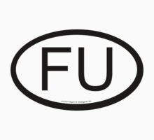 FU location sticker by SOIL
