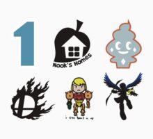 Nintendo Sticker Set #1 by BootlegBird