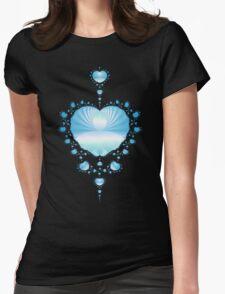 Pale Blue Hearts  T-Shirt
