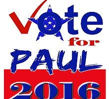 Vote for Paul 2016 by Buckwhite