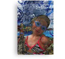 Batik Ocean Pose Midwest Canvas Print