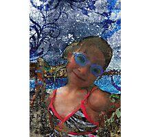 Batik Ocean Pose Midwest Photographic Print