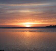 Sunset in Waldport by Annie Underwood