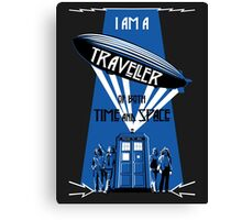 Traveller of Time and Space Canvas Print