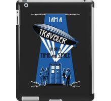 Traveller of Time and Space iPad Case/Skin