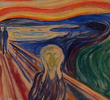The Scream - Edvard Munch (1893) by ECCO