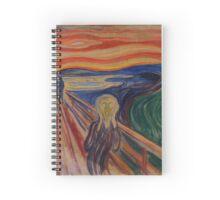The Scream - Edvard Munch (1893) Spiral Notebook