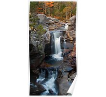 Screw Auger Falls Vertical View Poster