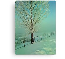 winter morning 2 Canvas Print