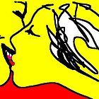 the kiss -(030211)- ms paint/Wacom Graphire 2 tablet by paulramnora