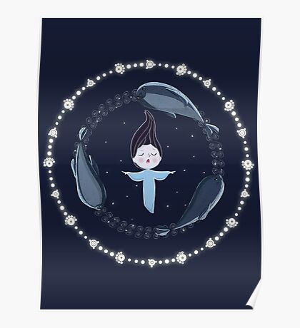 Song of the Sea - Selkie and seals Poster