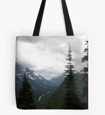VIEW OF HEAVEN - GLACIER NATIONAL PARK Tote Bag
