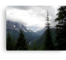 VIEW OF HEAVEN - GLACIER NATIONAL PARK Canvas Print