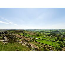 Baslow Edge and The Derwent Valley Photographic Print