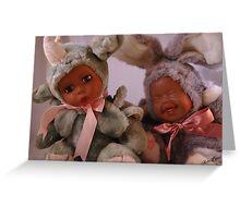 Baby Dolls Greeting Card