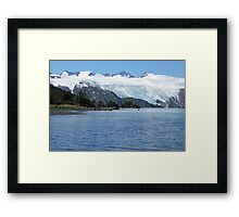 Alaskan Blues Framed Print