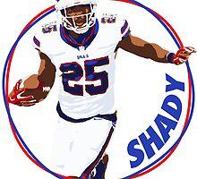 Shady Mccoy - Buffalo Bills by twyland