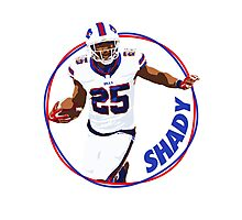 Shady Mccoy - Buffalo Bills Photographic Print