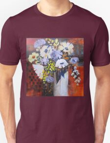 Still Life in White Vase Unisex T-Shirt