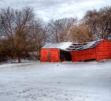 Red Barn - Springtown, Texas by jphall