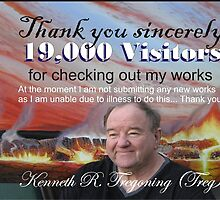 19,000 Thank you's by Ken Tregoning