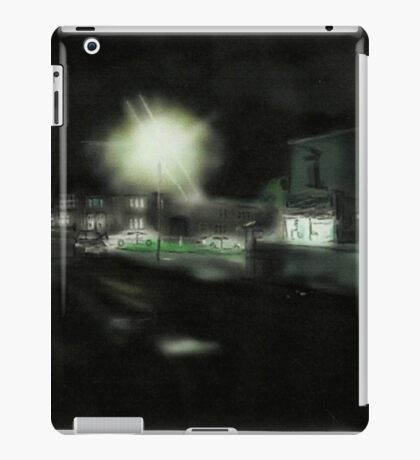 Park Stores at Night iPad Case/Skin