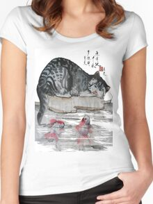 a touch of zen no.7 Women's Fitted Scoop T-Shirt